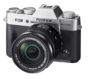 Fujifilm กล้องมิลเลอร์เลส รุ่น X-T20 kit 16-50 (สีเงิน) ประกันศูนย์