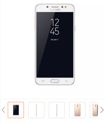 Samsung Galaxy J7+ (Gold)