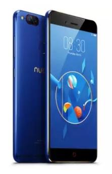 nubia Z17mini สีน้ำเงิน ออโรร่า แรม 6GB **เพียง 899บาท/เดือน